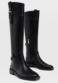 Stradivarius - Cowboy/Biker boots - black - 2