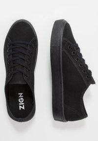 Zign - Sneakersy niskie - black - 1