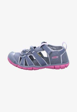 SEACAMP - Sandals - grey/rose