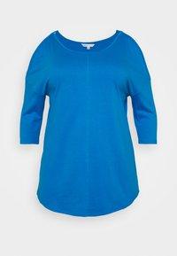 CAPSULE by Simply Be - COLD SHOULDER TUNIC - Top sdlouhým rukávem - blue - 5