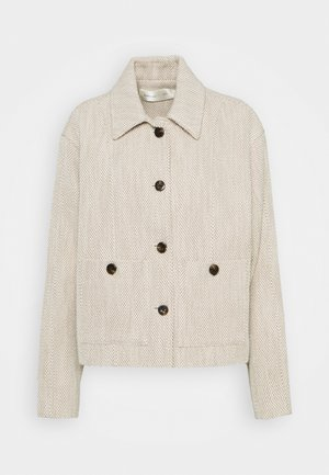 LAMAR JACKET - Summer jacket - neutral melange