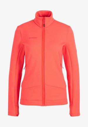 ACONCAGUA - Fleece jacket - sunset coral