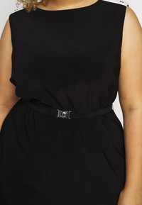 Lauren Ralph Lauren Woman - STIELER SLEEVELESS DAY DRESS - Jersey dress - black - 5
