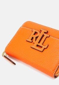 Lauren Ralph Lauren - LOGO ZIP WALLET SMALL - Wallet - nautical orange - 3