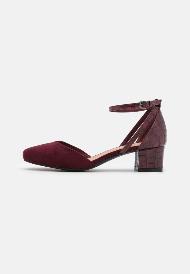 WIDE FIT WICKHAM - Klassieke pumps - bordeaux