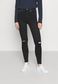 Tommy Jeans - SYLVIA SKINNY ANKLE  - Jeans Skinny Fit - cedar black - 0