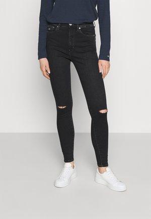 SYLVIA SKINNY ANKLE  - Jeans Skinny Fit - cedar black