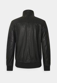 Blauer - Kožená bunda - black - 1