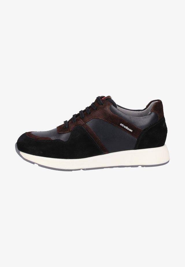 Sneakers laag - dark brown