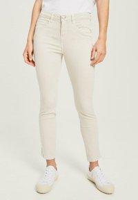 Opus - Jeans Skinny Fit - pebble stone - 0