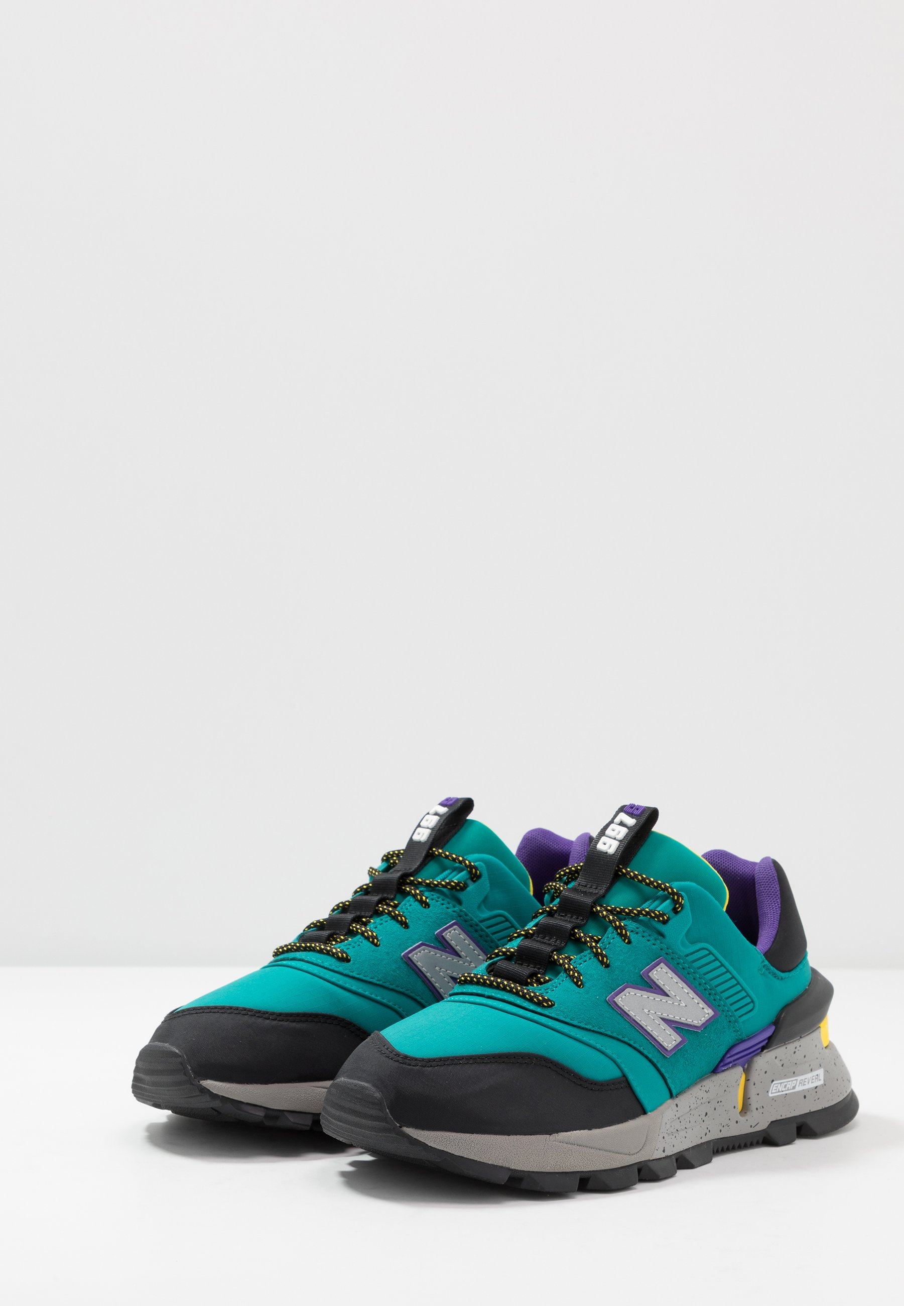 New Balance 997 S - Sneakers basse - green/black/petrolio - Zalando.it