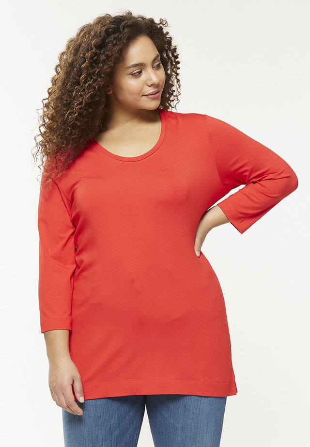 Long sleeved top - poppy
