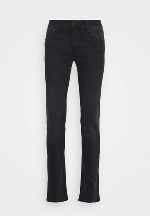 REBEL PANT MARGATE - Slim fit jeans - black mid worn wash