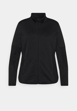 ONPJETTA CURVY - Fleece jacket - black