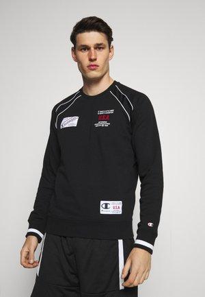 CREWNECK  - Sweatshirt - black/white