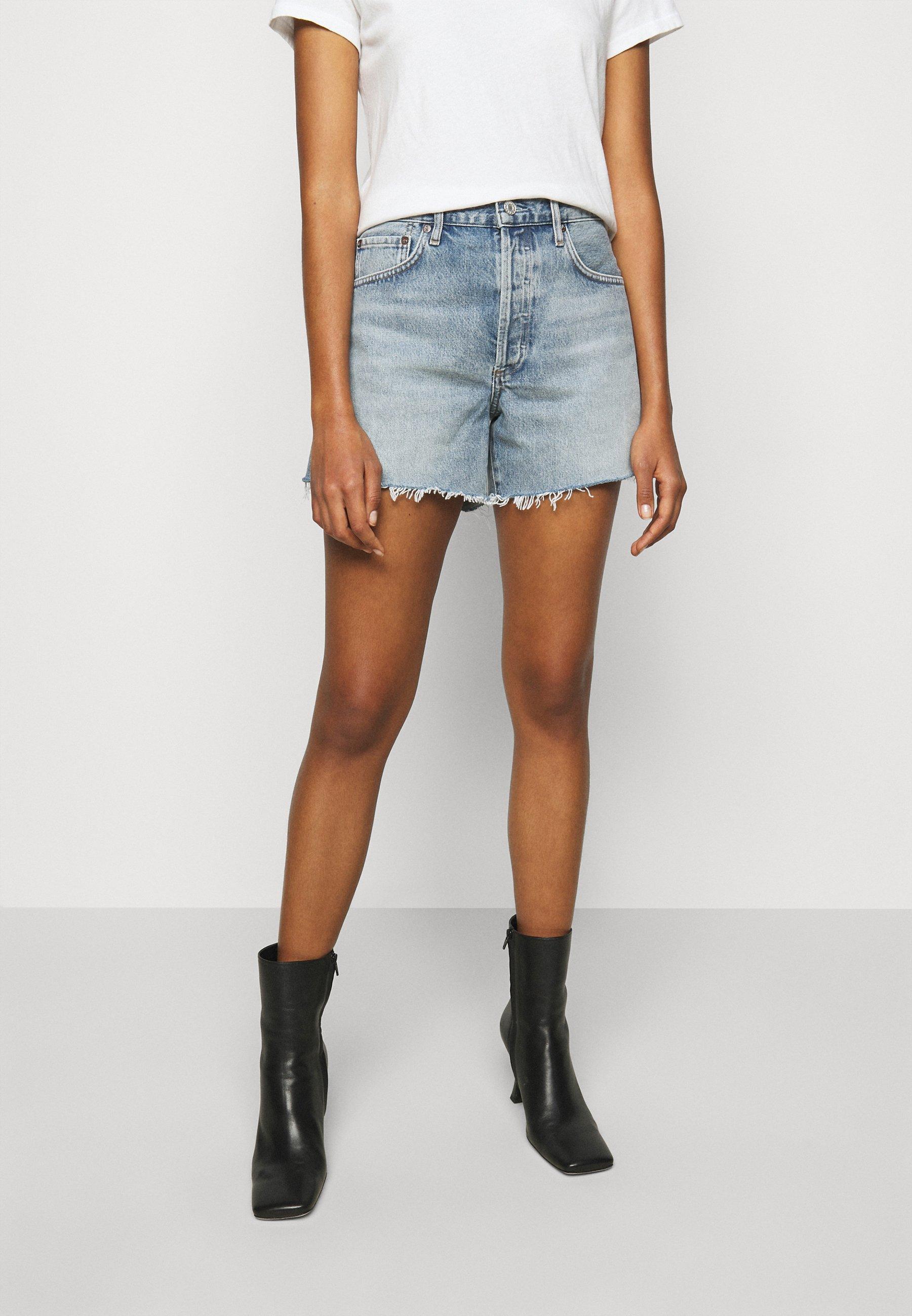 Damer REESE - Jeans Short / cowboy shorts