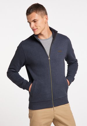 TRAYNE - Zip-up sweatshirt - navy