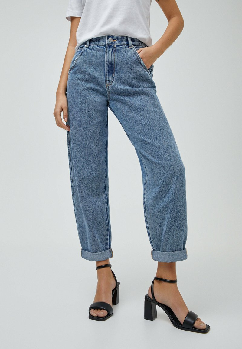 PULL&BEAR - Jeans straight leg - blue