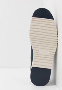 Pier One - Volnočasové šněrovací boty - dark blue denim - 4