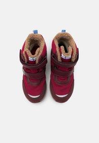 Finkid - LAPPI UNISEX - Zimní obuv - persian red/cabernet - 3