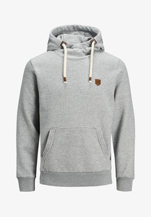 BLUTOM  - Sweat à capuche - light grey melange