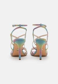 Buffalo - VEGAN RAVYN - High heeled sandals - rainbow - 2