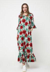 Madam-T - Maxi dress - rosa rot - 1