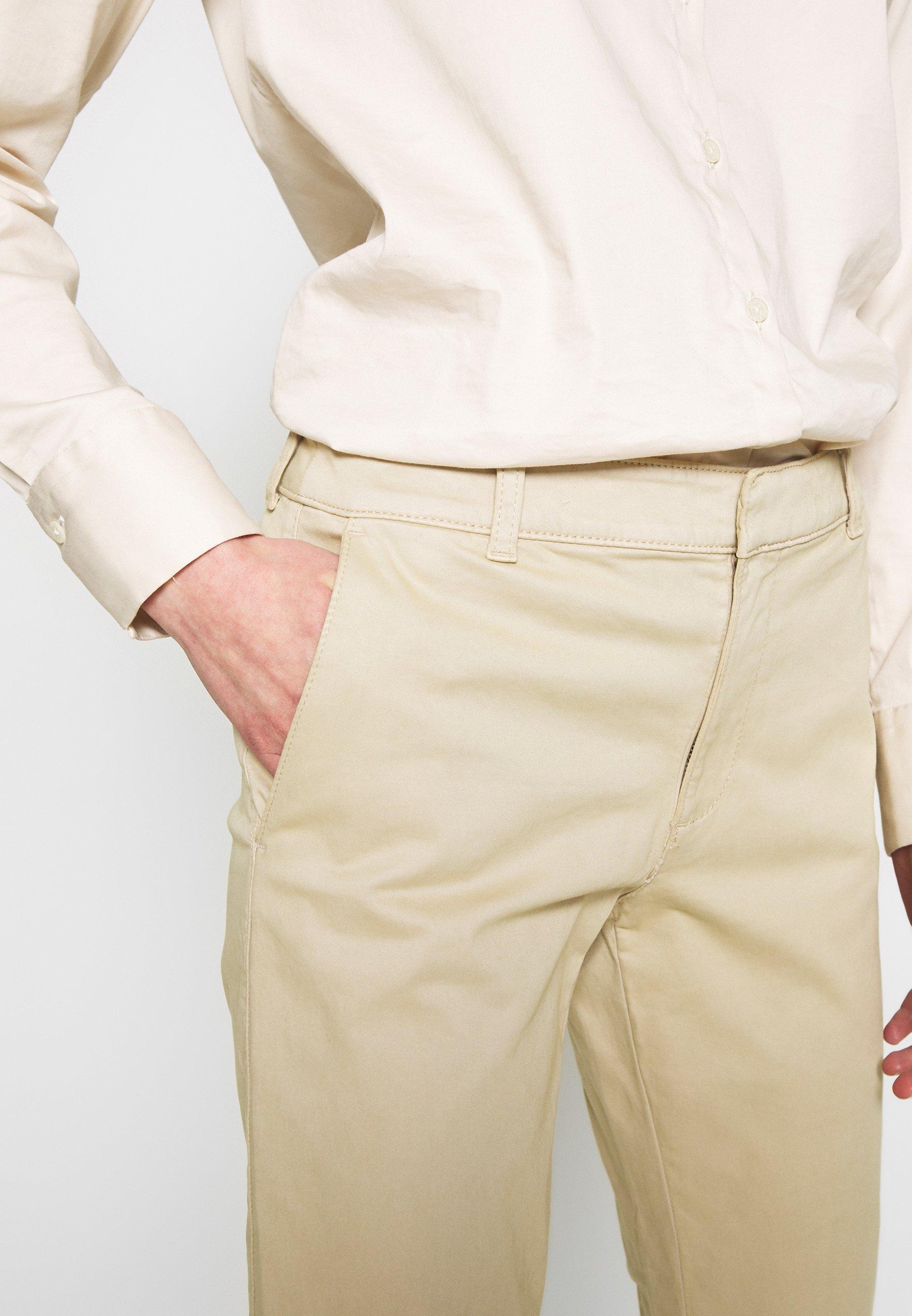 Banana Republic SLOAN CLEAN SOLIDS - Chino - stinson sand - Pantalons & Leggings Femme 7rueN