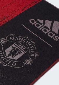 adidas Performance - MANCHESTER UNITED COTTON TOWEL - Håndkle - black - 2