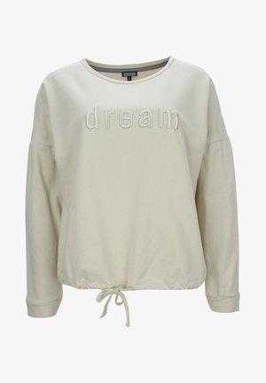 MIT STICK - Sweatshirt - marzipan
