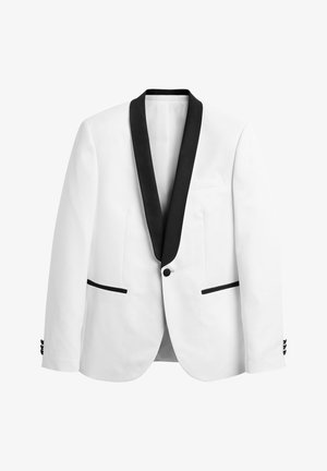 SLIM FIT - Colbert - white