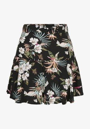 Áčková sukně - black tropical