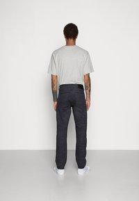 G-Star - TRIPLE STRAIGHT - Jeans Straight Leg - indigo cavalry denim/vintage dark cobler - 2