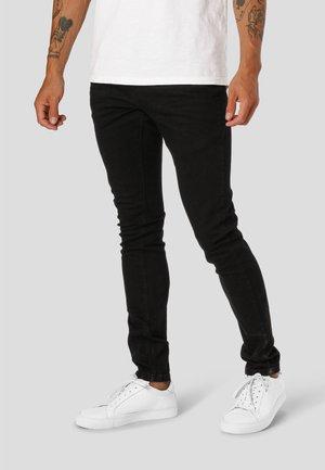 DAVID SLIM STRETCH - Slim fit jeans - black denim