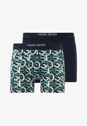 2 PACK - Pants - open blue