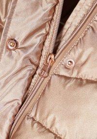 Name it - Winter jacket - gold colour - 4