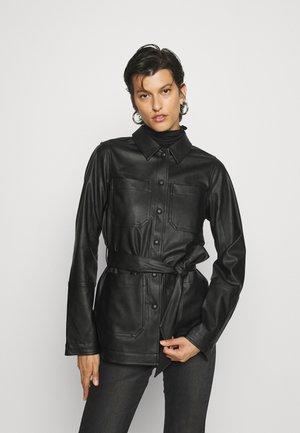 PCFEPTIMA  - Button-down blouse - black