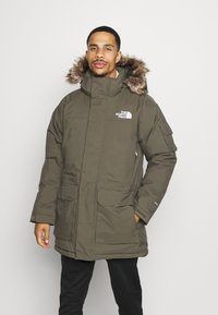 The North Face - RECYCLED MCMURDO UTILITY - Down coat - new taupe green - 0