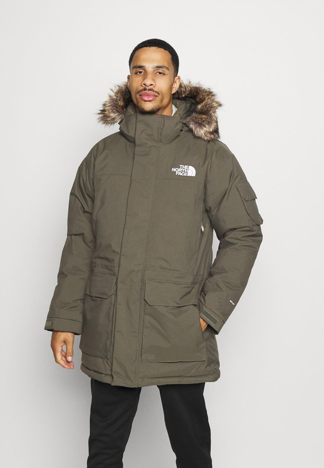 RECYCLED MCMURDO UTILITY - Down coat - new taupe green