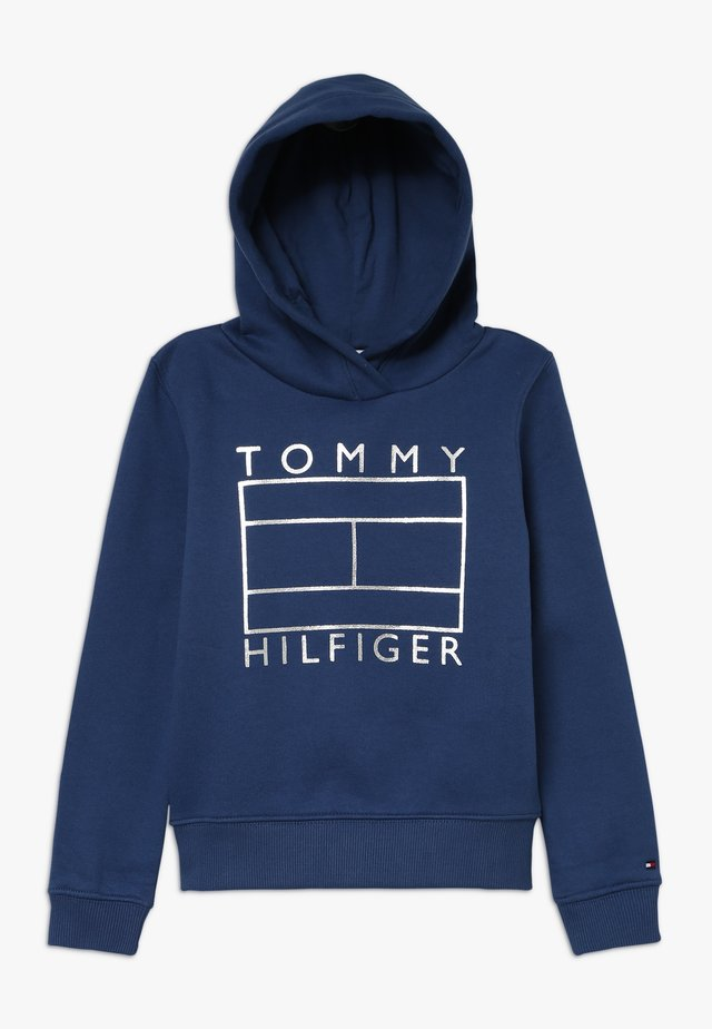 ESSENTIAL GRAPHIC HOODIE - Sweat à capuche - blue