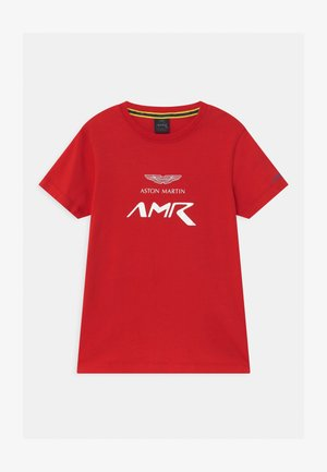 WINGS - Print T-shirt - red