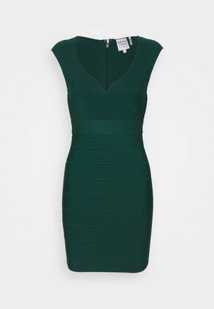 SWEETHEART CAP ICON DRESS - Shift dress - green