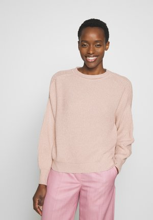 ELISIR - Sweter - puder