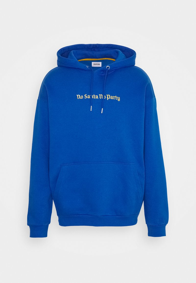 YOURTURN - UNISEX - Jersey con capucha - blue
