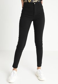 Pieces - PCHIGHSKIN WEAR  - Jeans Skinny - black - 0
