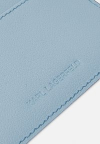 KARL LAGERFELD - AUTOGRAPH FOLD - Wallet - smoked blue - 3