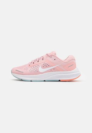 AIR ZOOM STRUCTURE 23 - Zapatillas de running estables - pink glaze/white/ocean cube