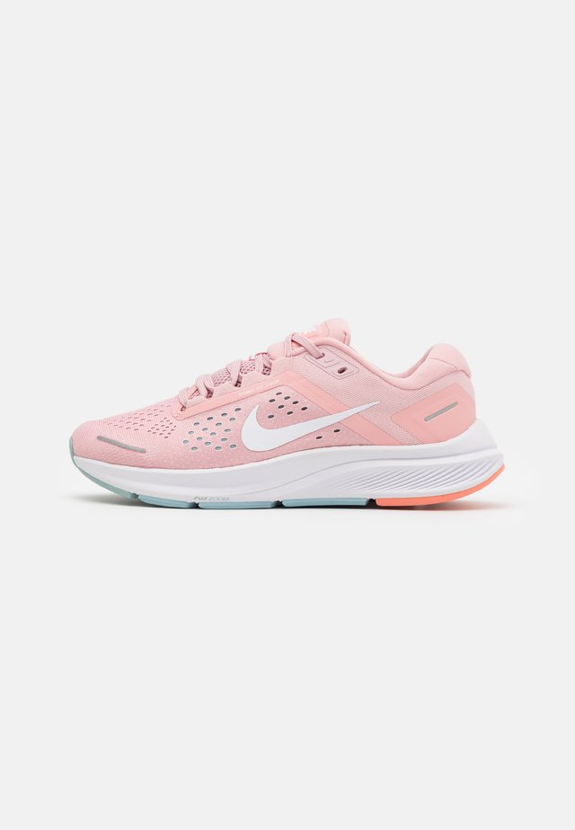 AIR ZOOM STRUCTURE 23 - Stabilty running shoes - pink glaze/white/ocean cube