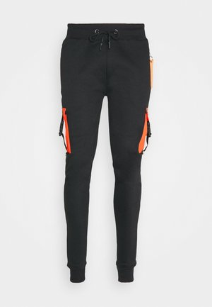 BARACOA - Tracksuit bottoms - jet black