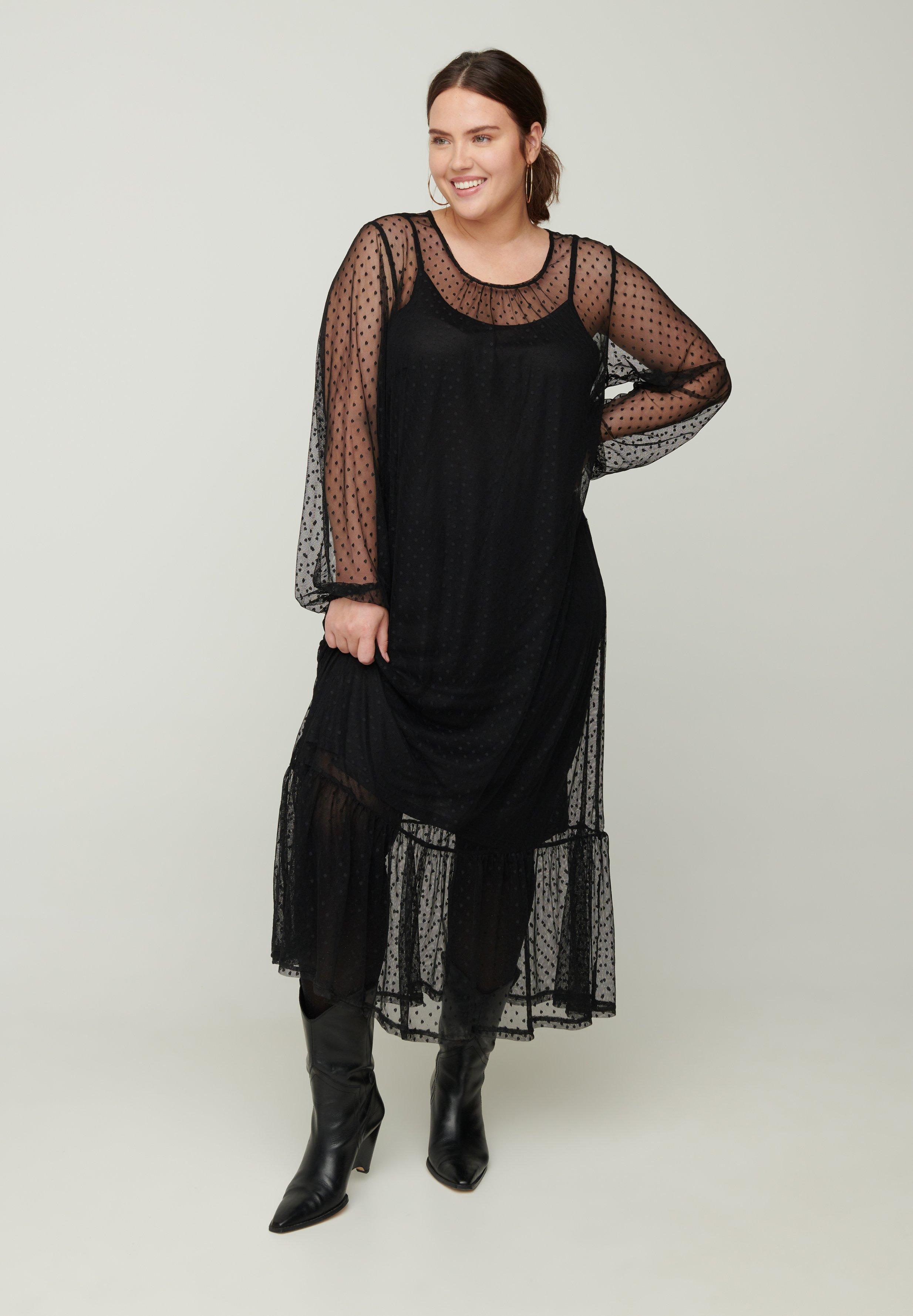 Femme MIT PÜNKTCHEN - Robe longue